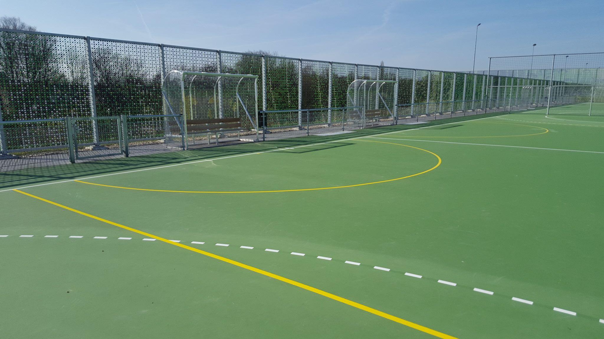 Belijning Mini handalveld sportpark